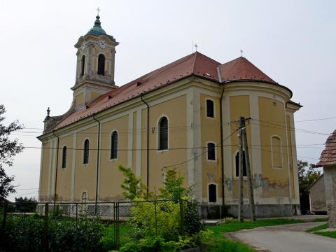 Ercsi Nagyboldogasszony barokk templom